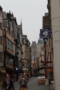 Rouen's Clock & Catherdal